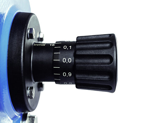 Pumps with high metering accuracy